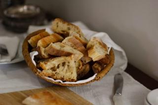 Le pain cuit au feu de bois